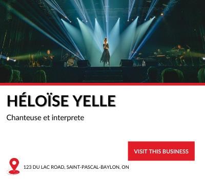 Local Business Héloise Yelle, chanteuse et interprete