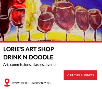 Local Business Lorie's Art Shop Drink n Doodle