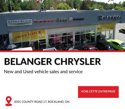 Entreprise locale Belanger Chrysler