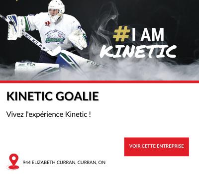Entreprise locale Kinetic Goalie